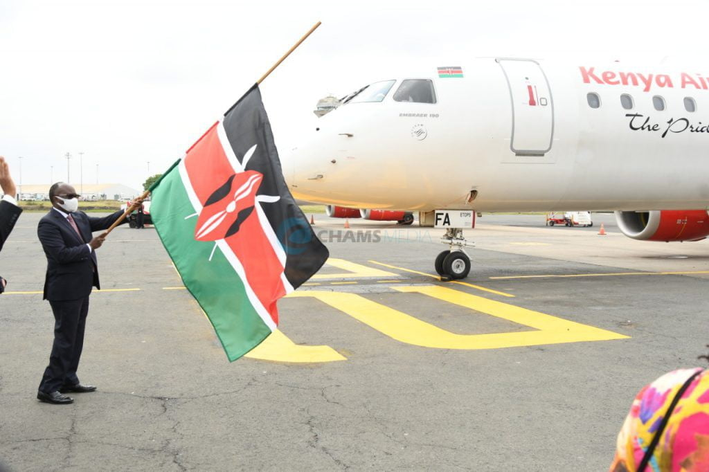 KQ boss' opinion on social distancing in planes as local flights resume 1